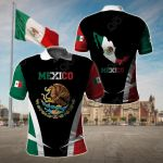 Mexico Proud Of My Country All Over Print Polo Shirt