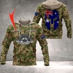 Customize Australian Army - Flag All Over Print Hoodies