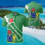 Cook Islands Christmas All Over Print Polo Shirt