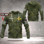 Customize Russian Army Camo All Over Print Hoodies