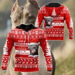 Save A Pit Bull Christmas All Over Print Shirts