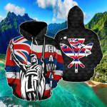 King Flag Fly - Hawaii Kamehameha All Over Print Hoodies