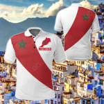 Morocco Special Flag All Over Print Polo Shirt