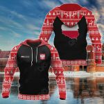 Customize Poland Christmas All Over Print Hoodies