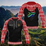 Customize South Africa Christmas All Over Print Hoodies