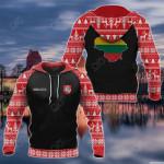 Customize Lithuania Christmas All Over Print Hoodies