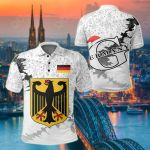 Germany Christmas Coat Of Arms X Style All Over Print Polo Shirt