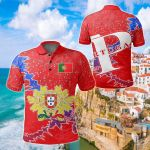 Portugal Christmas Coat Of Arms X Style All Over Print Polo Shirt