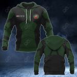 Customize Dominican Coat Of Arms Armor 3D Style All Over Print Hoodies