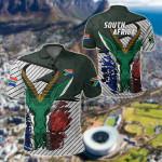 South Africa Special Springbok All Over Print Polo Shirt