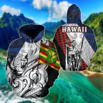 King Flag - Hawaii Kamehameha All Over Print Hoodies