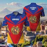 Customize Armenia New All Over Print Polo Shirt