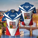 Customize Czech Republic New All Over Print Polo Shirt