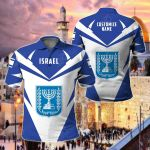 Customize Israel New All Over Print Polo Shirt
