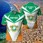 Customize Ivory Coast New All Over Print Polo Shirt
