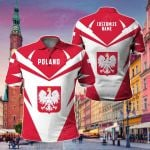 Customize Poland New All Over Print Polo Shirt