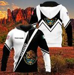Customize Mexico & Coat Of Amrs Version All Over Print Hoodies