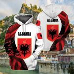 Albania New Release All Over Print Shirts