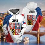 Czech Republic New Release All Over Print Shirts