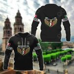 Customize Mexico - Michoacán Map All Over Print Hoodies