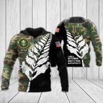 Customize US Army Veteran All Over Print Hoodies