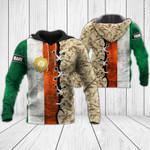 Customize Ireland Army Flag & Camo All Over Print Hoodies