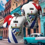 Cuba New Release All Over Print Polo Shirt