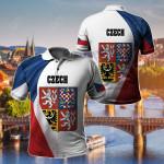 Czech Republic New Release All Over Print Polo Shirt