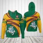 Customize Lithuania Coat Of Arms - New Design All Over Print Hoodies