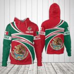 Customize Mexico Coat Of Arms - New Design All Over Print Hoodies
