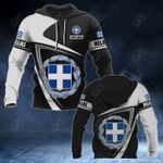 Customize Hellas Coat Of Arms - Flag V3 All Over Print Hoodies