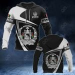 Customize Afghanistan Coat Of Arms - Flag V3 All Over Print Hoodies