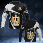 Customize Egypt Coat Of Arms - Flag V3 All Over Print Hoodies