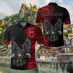 Double-headed Eagle Of Albania Special All Over Print Polo Shirt