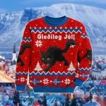 Iceland Christmas Yule Cat Gleðileg Jól Sweatshirt
