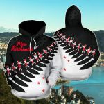 New Zealand Haka Christmas All Over Print Hoodies