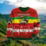 Ethiopia Christmas Red Sweatshirt