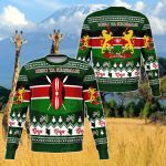 Kenya Christmas Sweatshirt