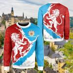 Luxembourg Lion On Top Sweatshirt