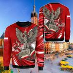 Poland Polska - Polish Eagle Sweatshirt