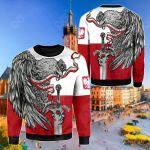 Poland The White Eagle - Orzel Bialy Sweatshirt