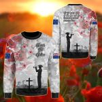 New Zealand Anzac - We Will Remember Them All Over Print Shirts