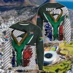 South Africa Special Springbok All Over Print Shirts
