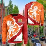 The Netherlands Lion On Top Sweatshirt