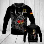 German Army Eagle All Over Print Hoodies