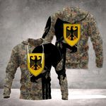 Germany Camo & Skull All Over Print Hoodies