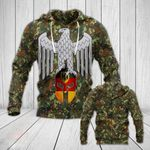 German Army Eagle Version All Over Print Hoodies