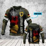 Customize German Army Skull Ver All Over Print Hoodies