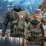 Austrian Army Symbol Soldiers All Over Print Hoodies