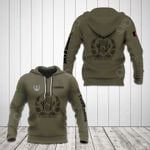 Customize Afghanistan Coat Of Arms Hoodies